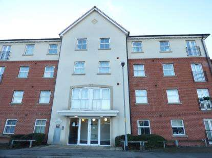 2 Bedrooms Flat for sale in Palatine House, Olsen Rise, Lincoln, Lincolnshire
