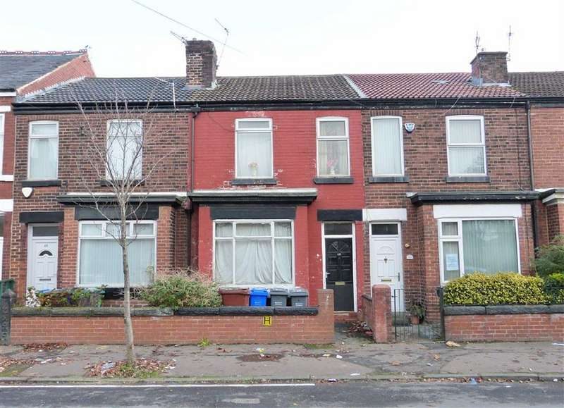 2 Bedrooms Block Of Apartments Flat for sale in Gill Street, Moston, Manchester