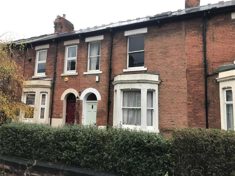 4 Bedrooms Terraced House for sale in Eversley Place, Heaton, Newcastle Upon Tyne, Tyne Wear