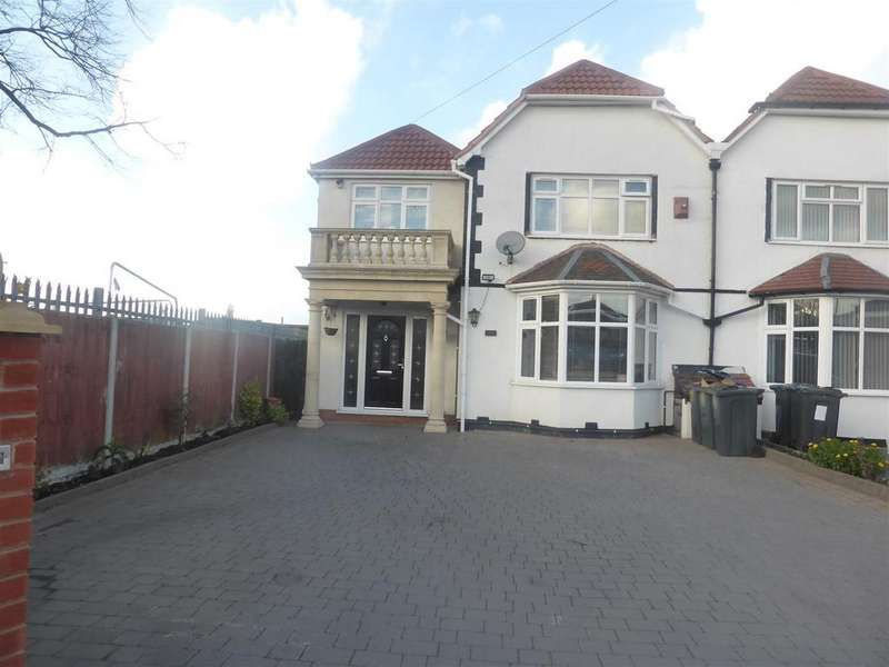 5 Bedrooms Semi Detached House for sale in Coleshill Road, Birmingham