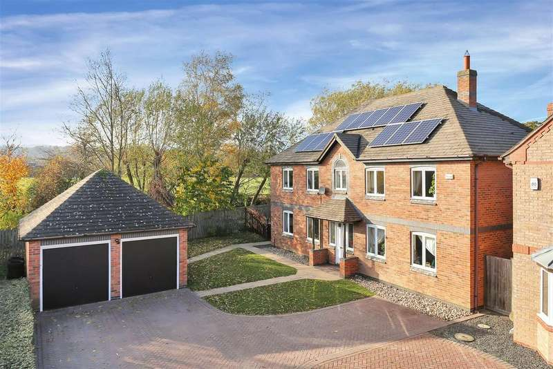 5 Bedrooms Detached House for sale in Cricket Lane, Loughborough