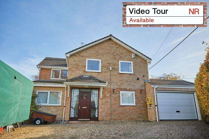 4 Bedrooms Detached House for sale in The Street, Ringland, Norwich