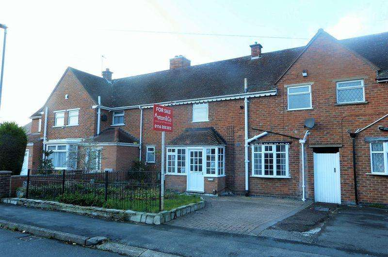 2 Bedrooms Terraced House for sale in Rutland Avenue, Wigston Leicestershire