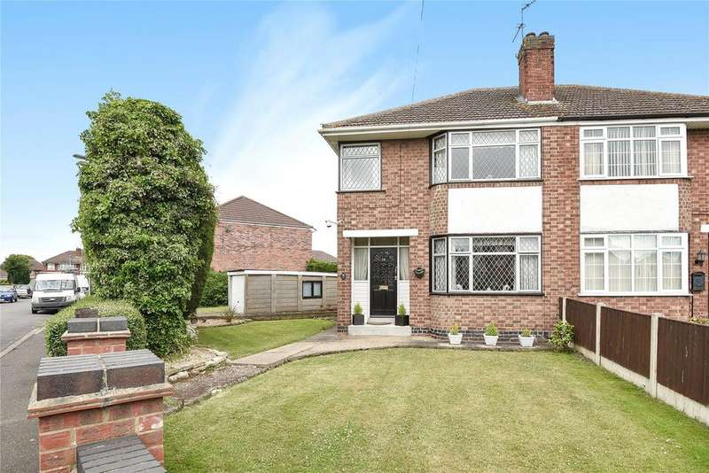 3 Bedrooms Semi Detached House for sale in Harrington Avenue, Lincoln, LN6