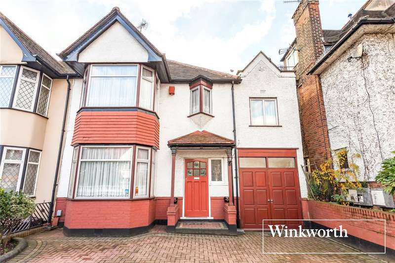 4 Bedrooms Semi Detached House for sale in Hervey Close, Finchley, London, N3