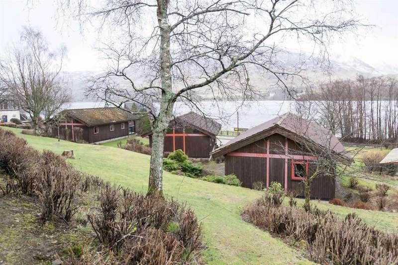 2 Bedrooms Bungalow for sale in Lodge 5, Lochside Lodges, Lochearnhead, FK19 8PU