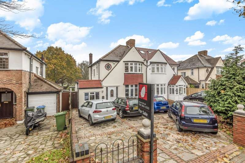 3 Bedrooms Semi Detached House for sale in Sidcup Road London SE9