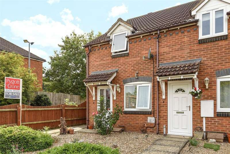 2 Bedrooms End Of Terrace House for sale in Tollemache Fields, South Witham, NG33