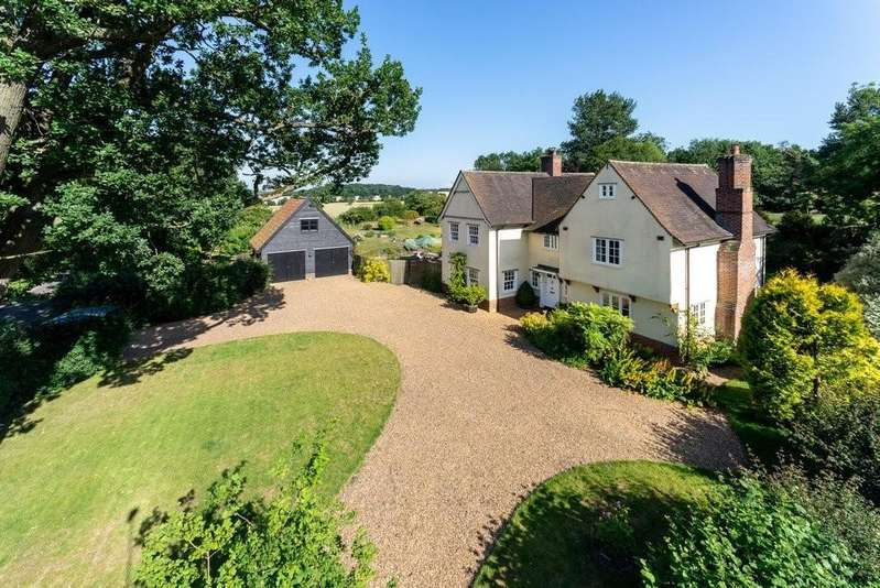 5 Bedrooms Detached House for sale in Heckfield Green, Hoxne