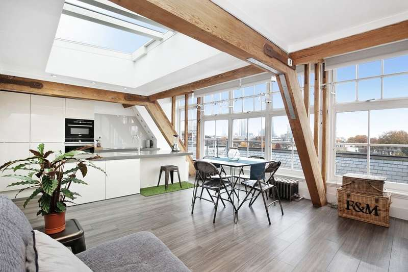 2 Bedrooms Flat for sale in Stannary Street, London, SE11