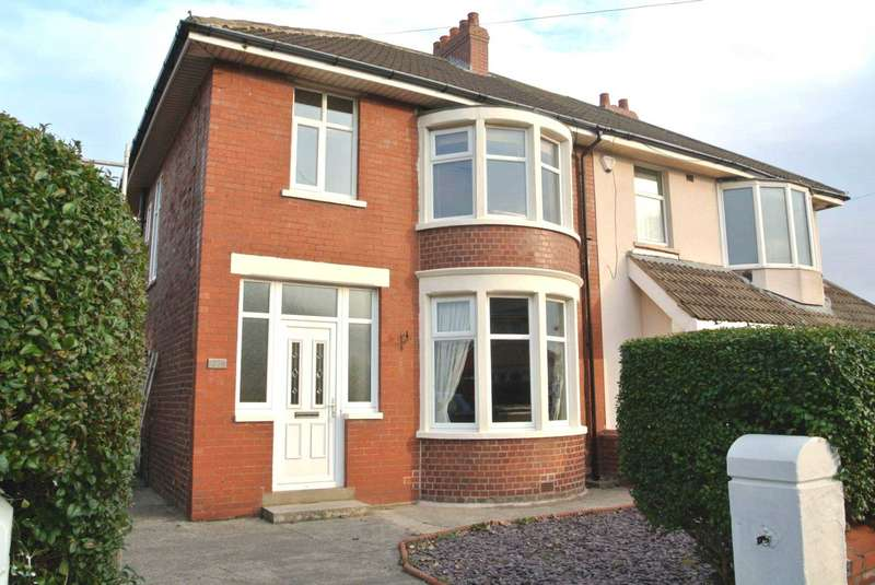 3 Bedrooms Semi Detached House for sale in Westgate, Lytham St Annes, FY8 2SG