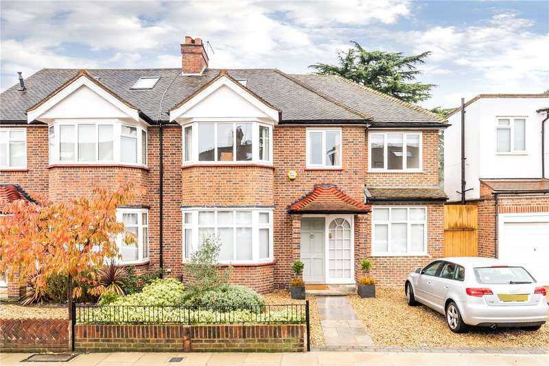 5 Bedrooms Semi Detached House for sale in Coval Gardens, East Sheen, SW14