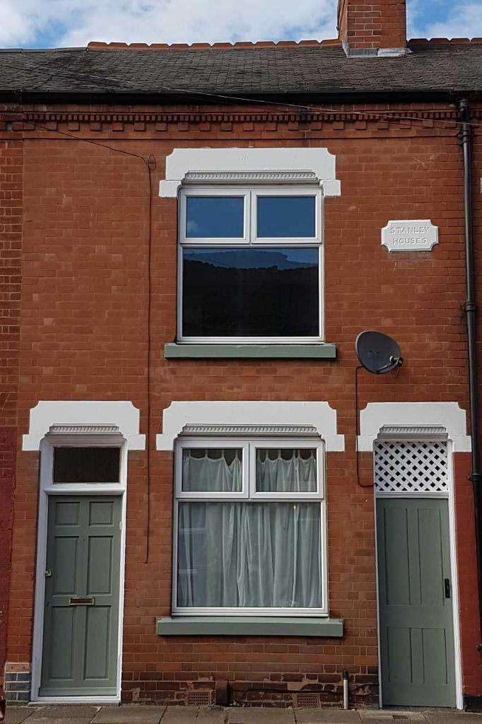 2 Bedrooms Terraced House for sale in Vaughan Street, Off Tudor Road, Leicester, Leicestershire, LE3 5JN