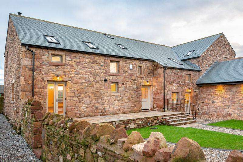 4 Bedrooms Barn Conversion Character Property for sale in Oughterside, Wigton