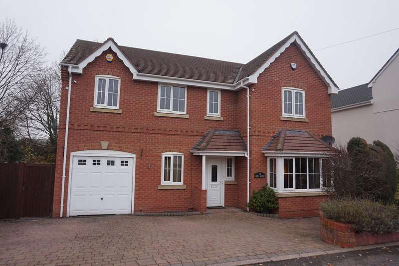 4 Bedrooms Detached House for sale in Valley Lane, Wilnecote, Tamworth