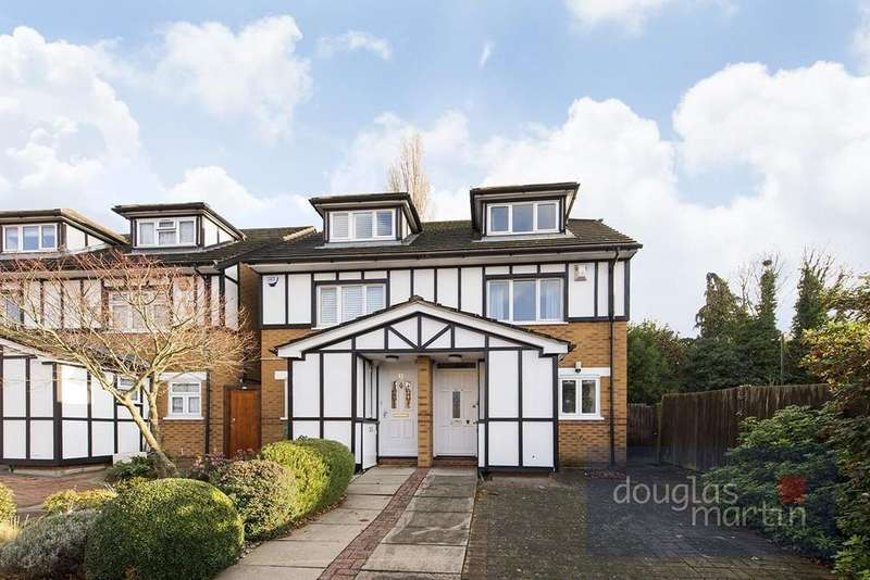 3 Bedrooms Semi Detached House for sale in Rickard Close, London NW4