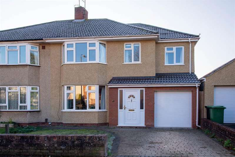 4 Bedrooms Semi Detached House for sale in Bromley Heath Avenue, Downend, Bristol, BS16 6JS