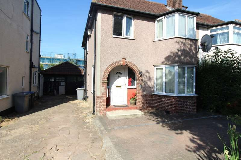 3 Bedrooms Semi Detached House for sale in Alder Grove, London, London, NW2