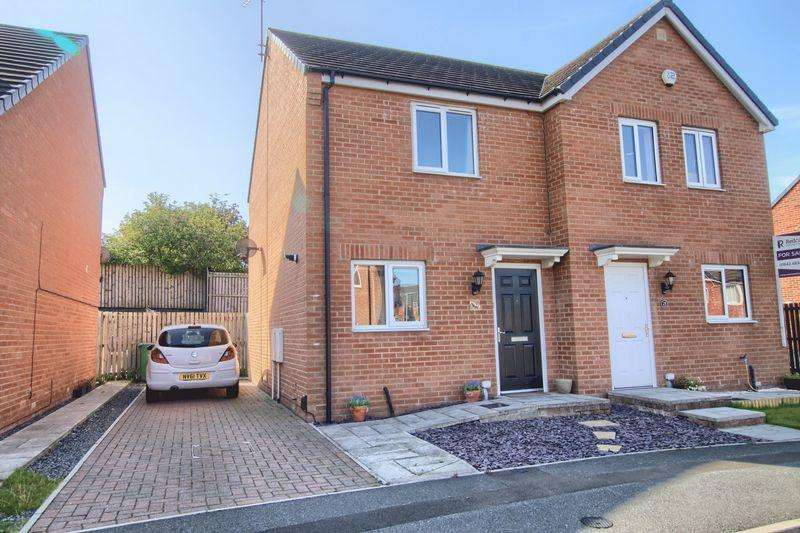 2 Bedrooms Semi Detached House for sale in Pottery Wharf, Thornaby