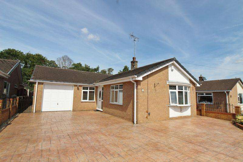 3 Bedrooms Detached Bungalow for sale in Hampshire Drive, Ty Gwyn, Wrexham