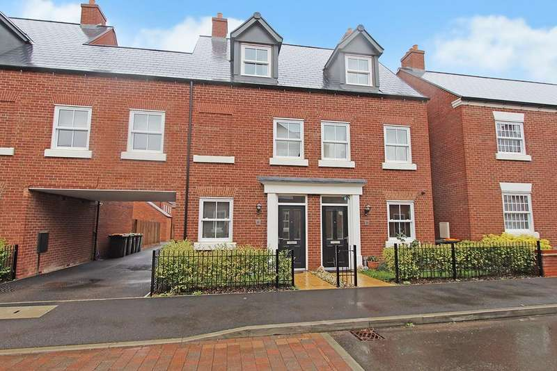 3 Bedrooms Town House for sale in Lavender Lane, Great Denham, Bedford, MK40