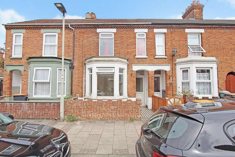 3 Bedrooms Terraced House for sale in Churchville Road, BEDFORD, MK42