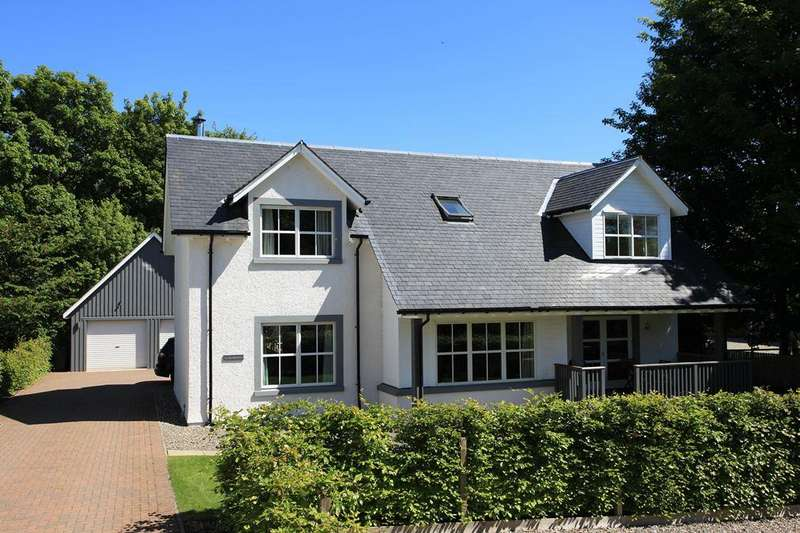 4 Bedrooms Detached Villa House for sale in Tighnabruaich, Turretbank Road, Crieff PH7 4AR