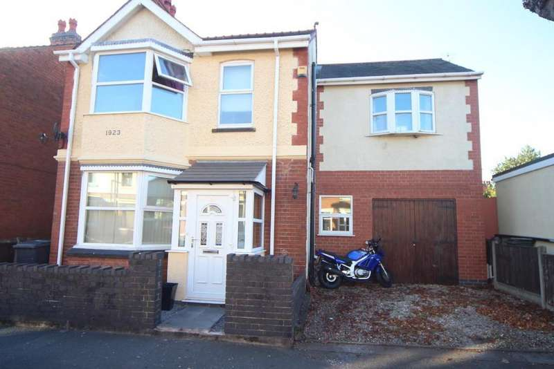 4 Bedrooms Detached House for sale in Highfields Road, Hinckley