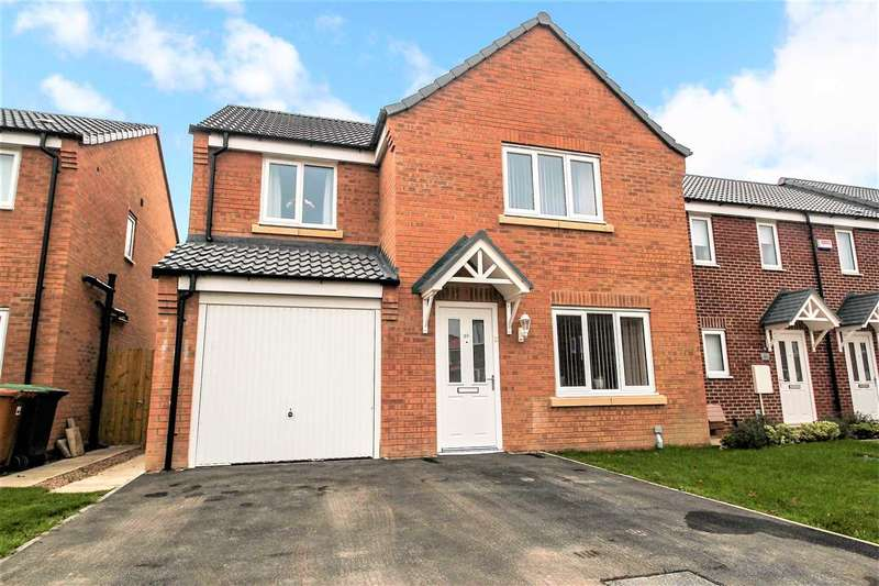 4 Bedrooms Detached House for sale in Furnace Close, North Hykeham, Lincoln