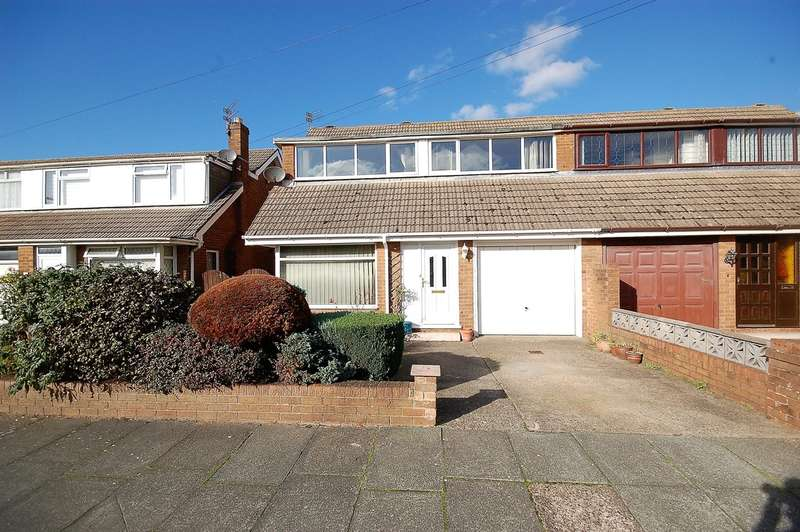 4 Bedrooms Semi Detached Bungalow for sale in Glencross Place, Blackpool