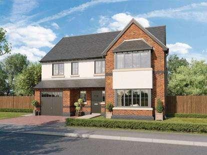 4 Bedrooms Detached House for sale in Medburn Manor, The Nursery, Medburn, NE20