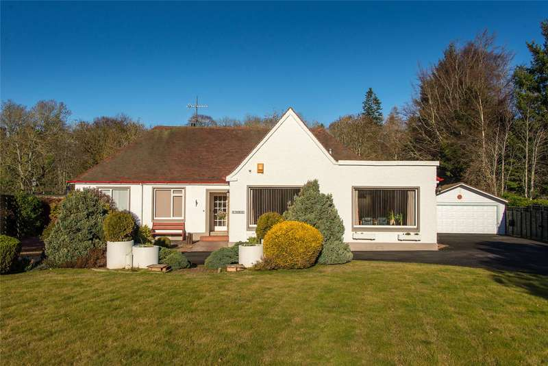 4 Bedrooms Detached Bungalow for sale in Windsmere, Parkdaill, Hawick, Scottish Borders, TD9