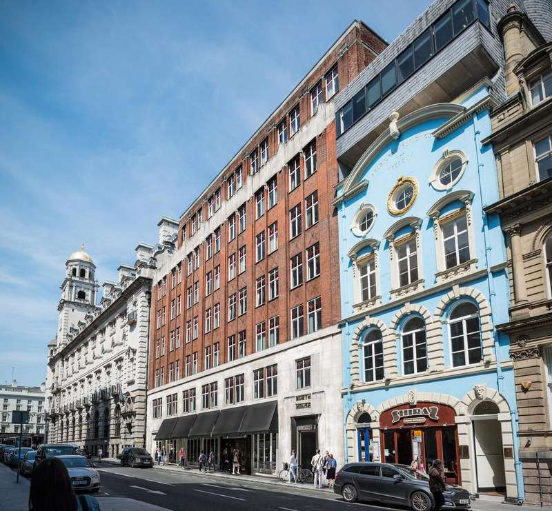 2 Bedrooms Apartment Flat for sale in North House North John Street, Liverpool, L2