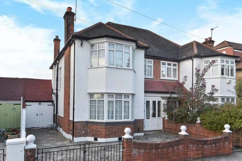 3 Bedrooms Semi Detached House for sale in Brantwood Road, Herne Hill