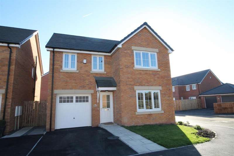 4 Bedrooms Detached House for sale in Clement Way, Willington, Crook