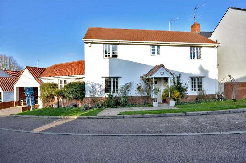 4 Bedrooms Detached House for sale in Sucklings Yard, Steeple Bumpstead, Nr Haverhill, Suffolk, CB9
