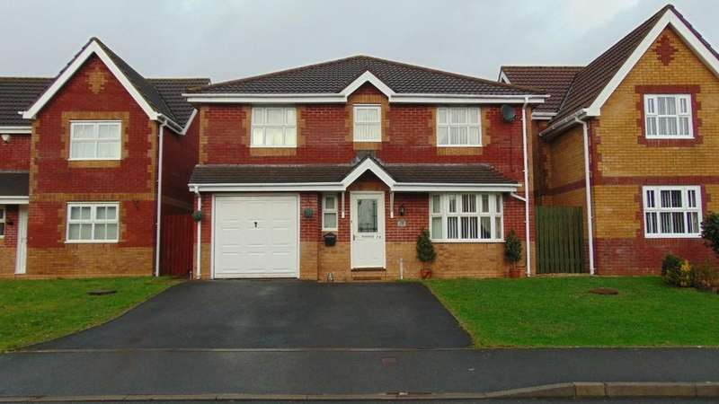 4 Bedrooms Detached House for sale in Maes Ty Gwyn, Llangennech