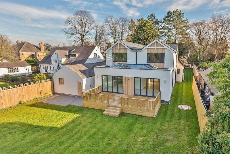 5 Bedrooms Detached House for sale in Manchester Road, Wilmslow