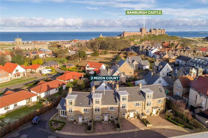 4 Bedrooms Terraced House for sale in Mizen Court, Bamburgh, Northumberland