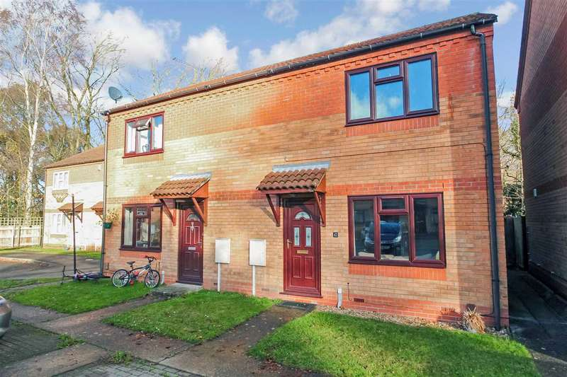 2 Bedrooms Semi Detached House for sale in Romney Drive, Lincoln