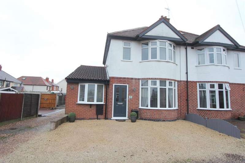 3 Bedrooms Semi Detached House for sale in Hays Lane, Hinckley