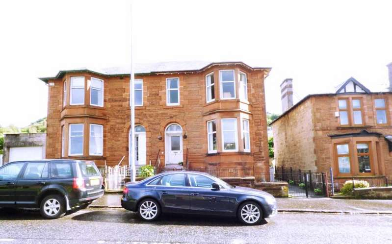 4 Bedrooms Semi Detached House for sale in NEWARK STREET, GREENOCK PA16