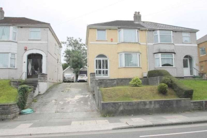 3 Bedrooms Semi Detached House for sale in Crownhill Road, Plymouth