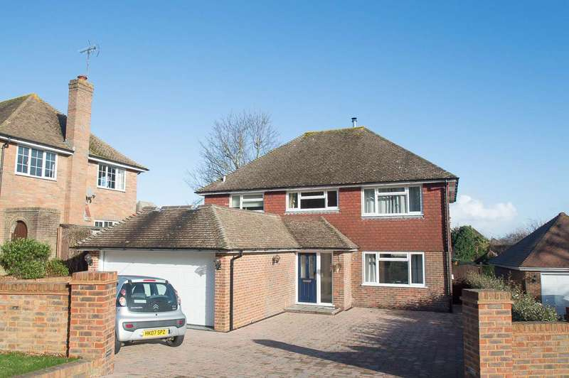 4 Bedrooms Detached House for sale in Upper Ratton Drive, Eastbourne