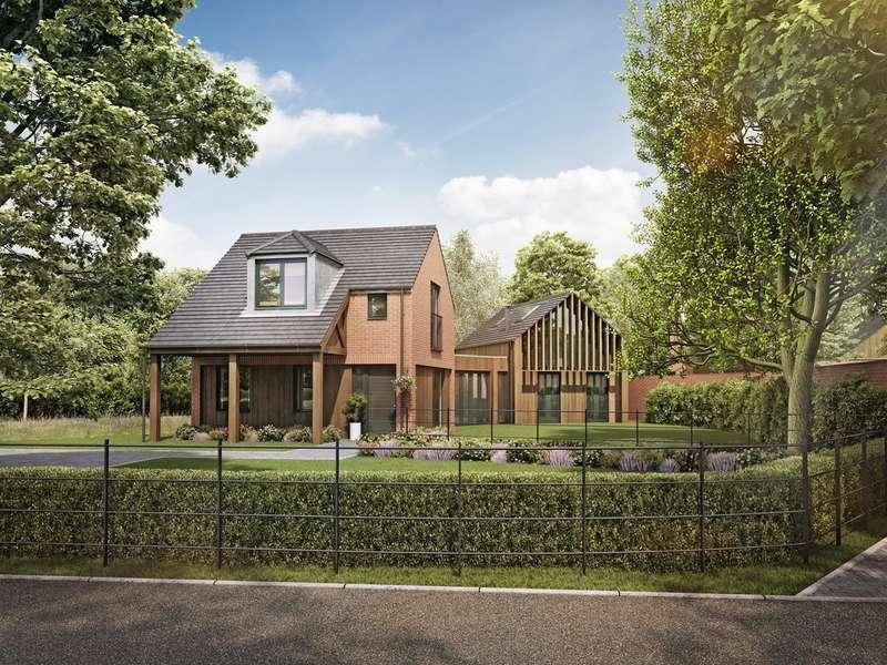 3 Bedrooms Detached House for sale in Culcheth Hall Drive, Culcheth, Warrington, WA3