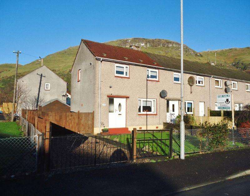 2 Bedrooms Terraced House for sale in Craighorn Road, Alva
