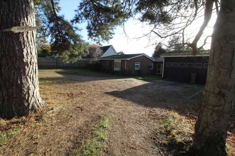 3 Bedrooms Bungalow for sale in Pinetrees, Purdis Farm Lane, Ipswich