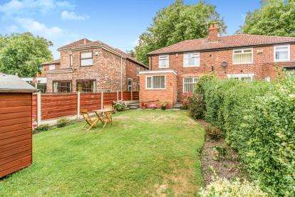 3 Bedrooms Semi Detached House for sale in Mauldeth Road, Manchester, Greater Manchester, Uk