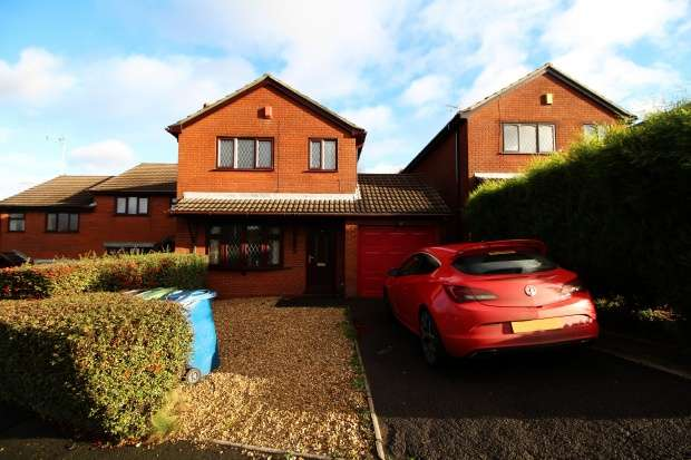 3 Bedrooms Detached House for sale in Highview Road, Stoke-On-Trent, Staffordshire, ST11 9QQ
