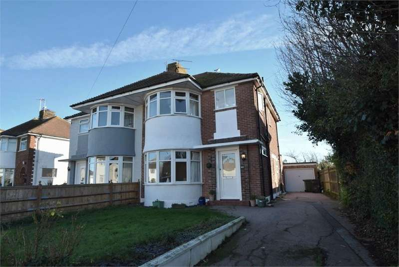 3 Bedrooms Semi Detached House for sale in Freeman Avenue, West Hampden Park, East Sussex